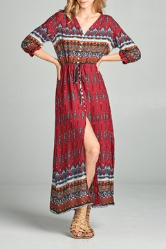 Shoptiques Product: Boho Maxi Dress