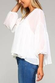 Racine Chloe Chiffon Top - Product Mini Image