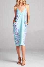 Racine Cocoon Print Dress - Product Mini Image