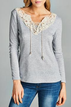 Racine Crochet Lace Top - Alternate List Image