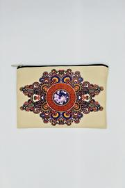 Racine Diamond Clutch Bag - Product Mini Image