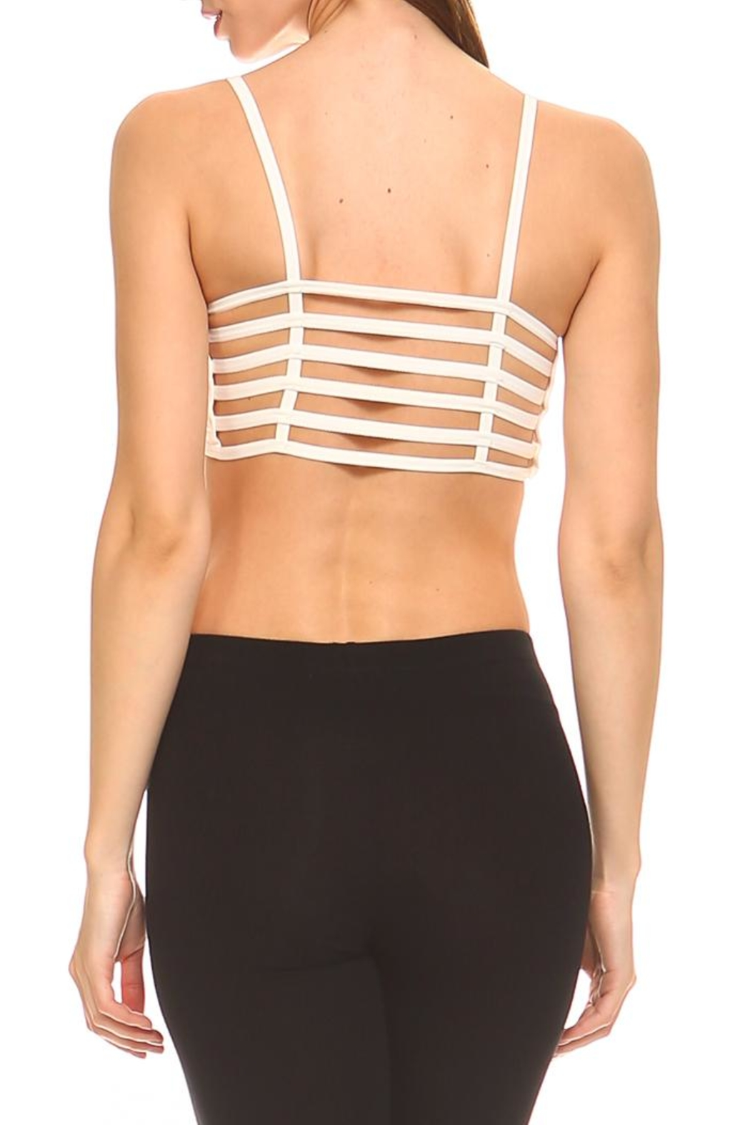 Racine Essential Seamless Bralette - Front Cropped Image