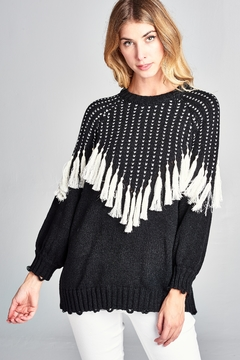 Shoptiques Product: Fall-Winter Fringe Sweater