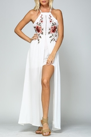 Racine Floral Embroidered Maxi Dress - Product Mini Image