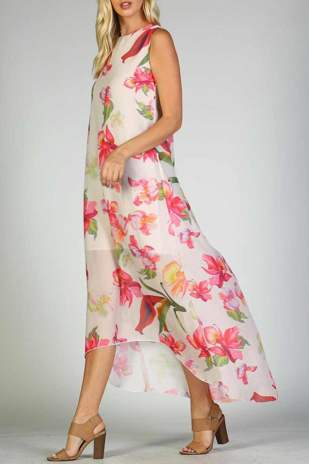 Racine Floral Maxi Dress - Main Image