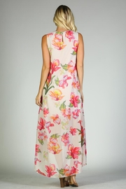 Racine Floral Maxi Dress - Back cropped