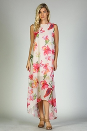 Racine Floral Maxi Dress - Front full body