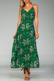 Racine Floral Print Maxi Dress - Product Mini Image