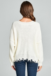 Racine Frayed Sweater - Other