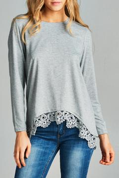 Racine Lace Hem Top - Alternate List Image