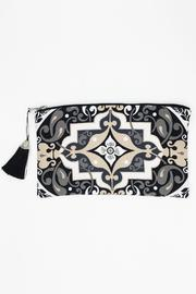 Racine Multicolor Print Clutch - Front cropped