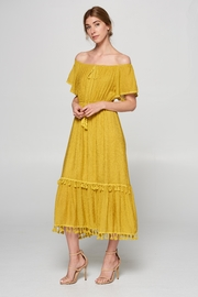 Racine Off-Shoulder Maxi Dress - Product Mini Image