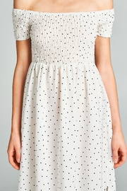 Racine Polka Dot Midi Dress - Other