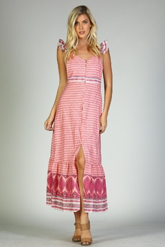 Racine Ruffle Print Dress - Alternate List Image