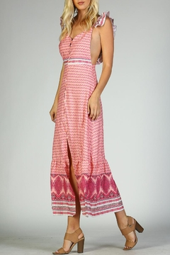Racine Ruffle Print Dress - Product List Image