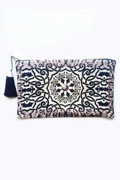 Racine Taupe Henna Clutch - Product List Image