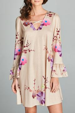 Racine Tea Garden Floral Dress - Alternate List Image