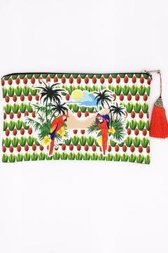 Shoptiques Product: Tropical Parrot Clutch