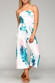 Racine Tropical Print Jumpsuit - Product Mini Image