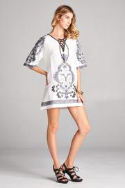 Racine White Tunic Top - Side cropped