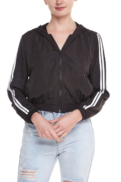 Shoptiques Product: Racing Stripes Windbreaker
