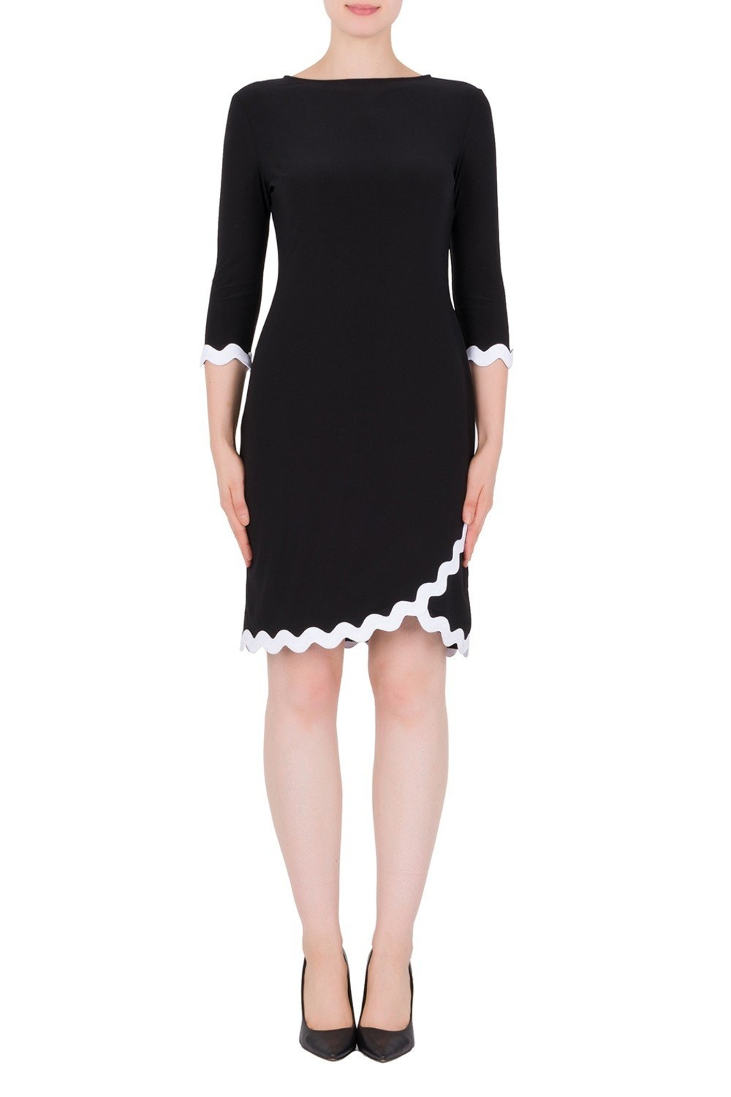 Joseph Ribkoff  Rack Time Dress - Front Cropped Image