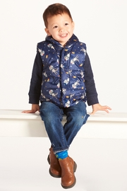 Giftcraft Inc.  Rocco Racoon Puffa Vest - Product Mini Image