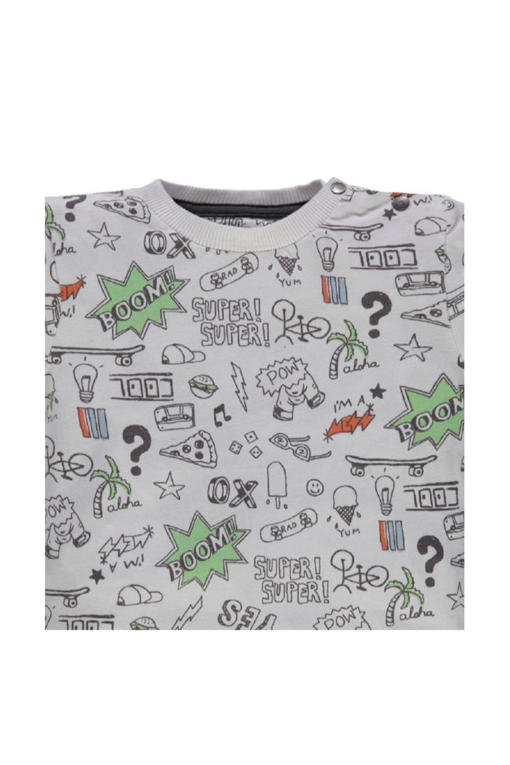 Kanz Rad Doodles Tee - Side Cropped Image