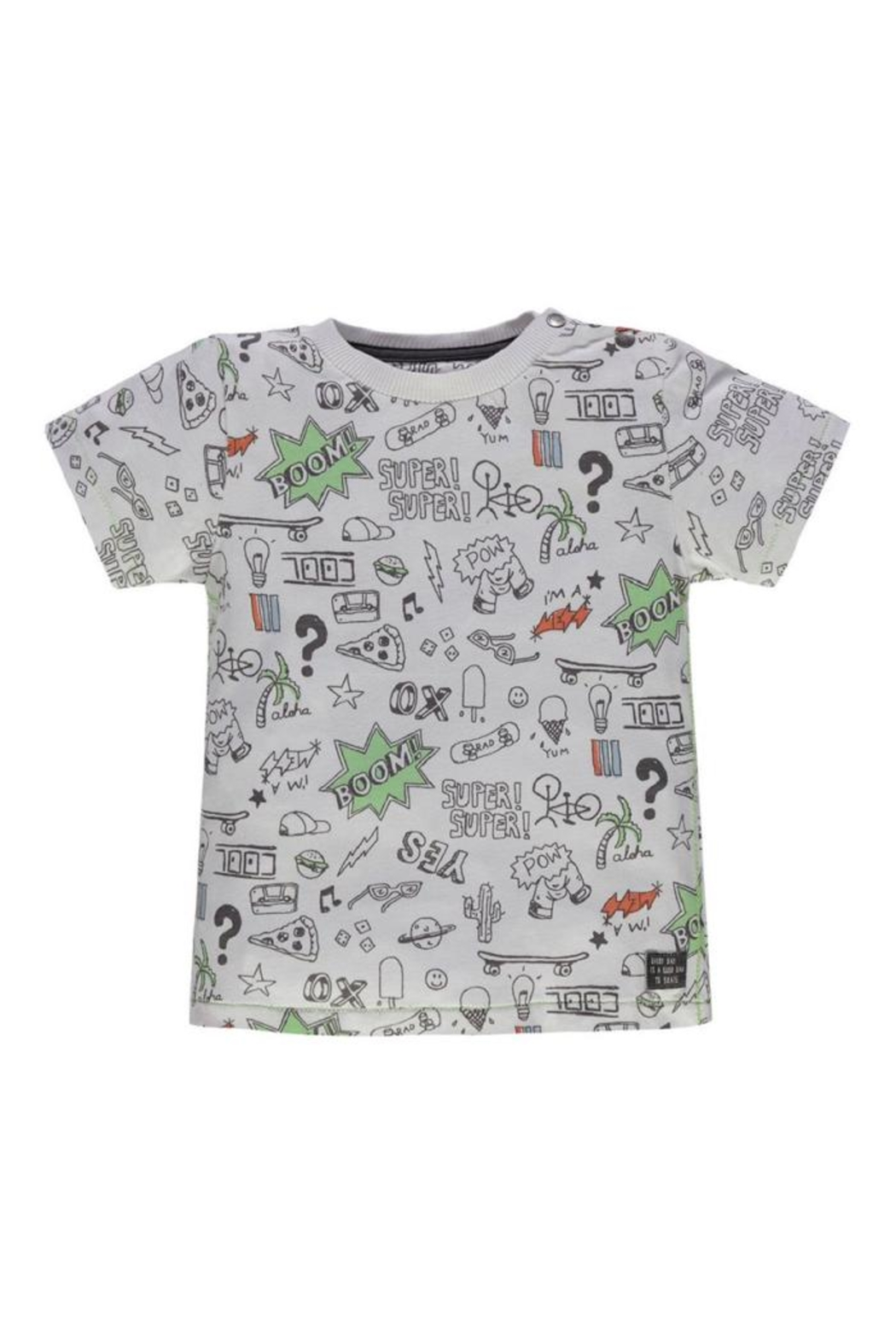 Kanz Rad Doodles Tee - Front Cropped Image
