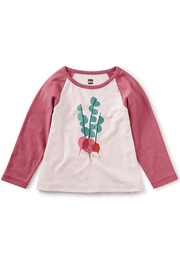 Tea Collection Rad Radish Raglan Graphic Tee - Product Mini Image