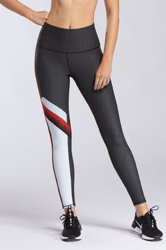 W.I.T.H.-Wear It To Heart Radial Stripe Legging - Product List Image