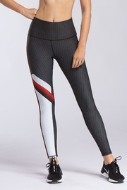 W.I.T.H.-Wear It To Heart Radial Stripe Legging - Product Mini Image