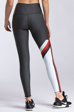 W.I.T.H.-Wear It To Heart Radial Stripe Legging - Alternate List Image