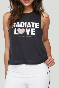 Shoptiques Product: Radiate Love Crop Tank