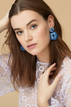Mignonne Gavigan Rae Drop Flower Earrings - Product List Image