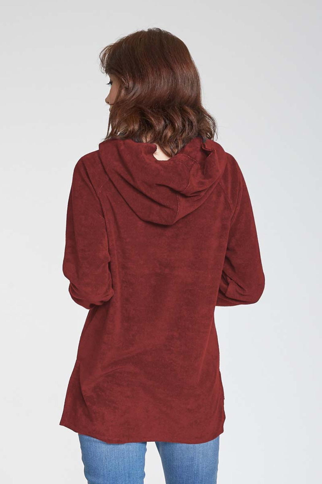 Another Love  Rae Hooded Top - Front Full Image