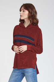 Another Love  Rae Hooded Top - Front cropped