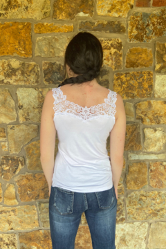 Arianne Rae Reversible Lace Detail Cami - Alternate List Image