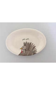 Rae Dunn Gobble Gobble Oval-Plate - Product List Image
