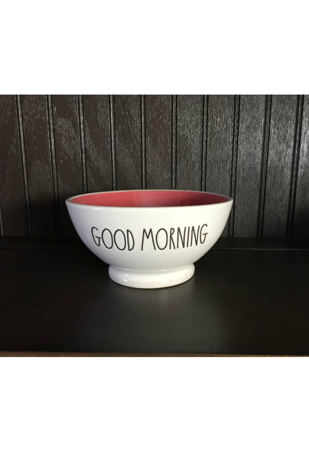 Rae Dunn Good Morning Bowl - Main Image