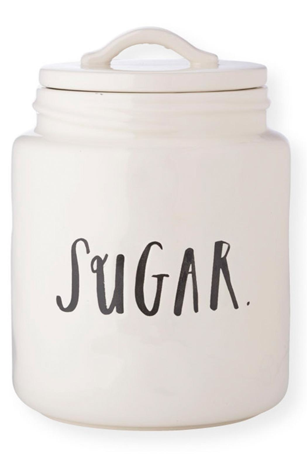 Rae Dunn Medium Sugar Canister - Front Cropped Image