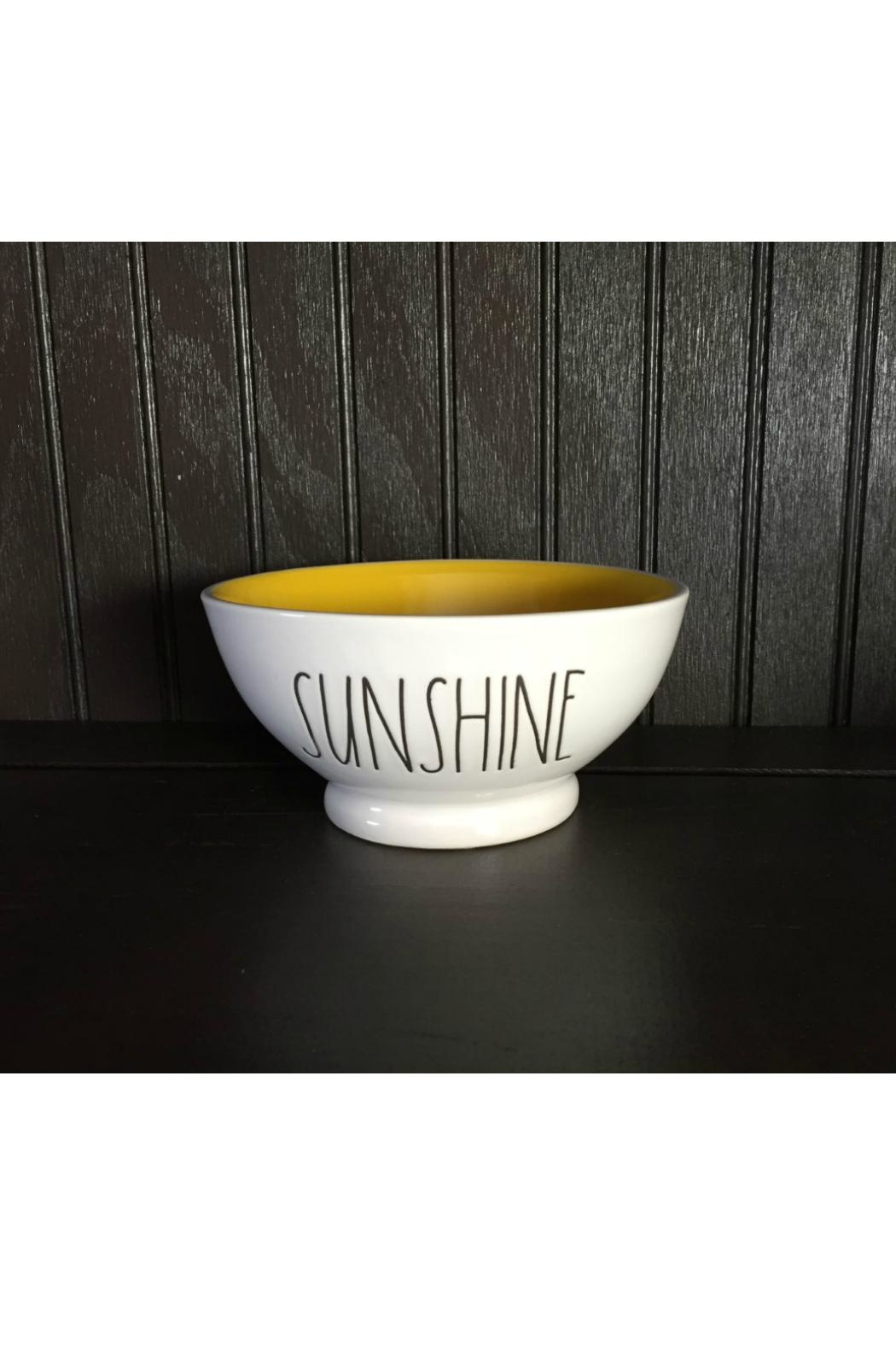 Rae Dunn Sunshine Bowl - Front Cropped Image