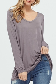 RAE MODE Longsleeve Vneck Blouse - Product Mini Image
