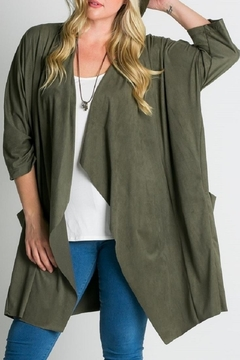 RAE MODE Olive Cardigan - Alternate List Image