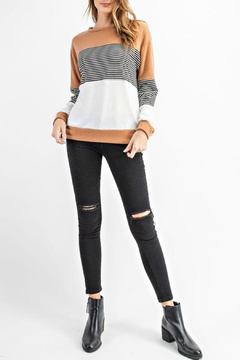 RAE MODE Rae Colorblock Sweater - Product List Image