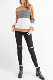 RAE MODE Rae Colorblock Sweater - Front cropped