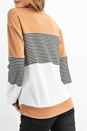 RAE MODE Rae Colorblock Sweater - Back cropped