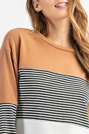 RAE MODE Rae Colorblock Sweater - Front full body