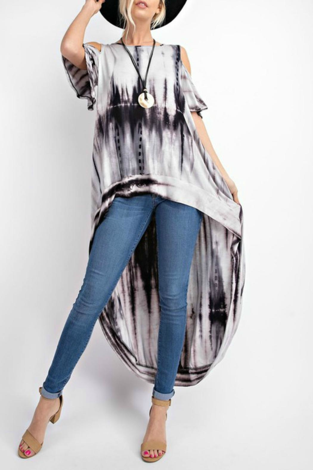 RAE MODE Tie-Dye Knit Top - Front Full Image