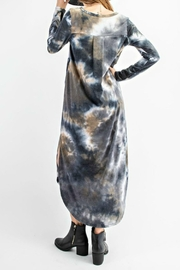 RAE MODE Tie Dye Pocketed Dress - Back cropped